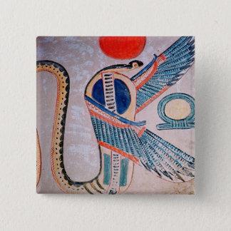Cobra god, Egyptian 15 Cm Square Badge