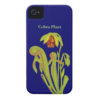 Cobra Plant Botanical Art iPhone 4 Case