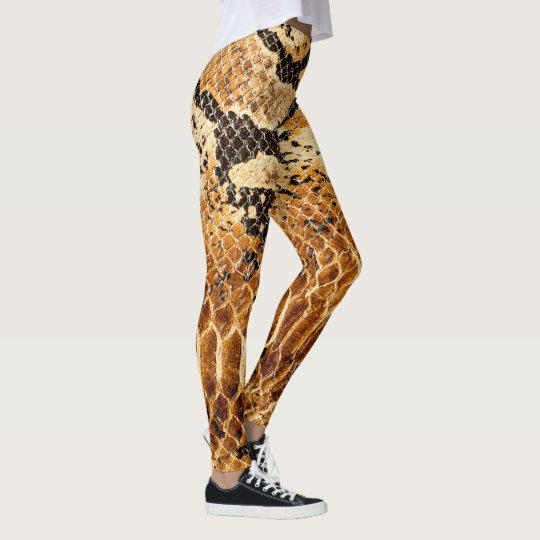 Cobra Snake Skin Printed Cool Sport Gym Women