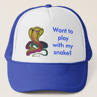 Cobra Snake Trucker Hat