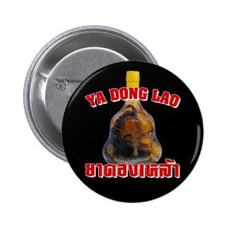 Cobra Snake Vs Scorpion Whiskey Yadong Lao Pinback Button