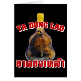 Cobra Snake Vs Scorpion Whiskey ... Yadong Lao Card