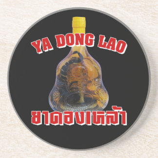 Cobra Snake Vs Scorpion Whiskey Yadong Lao Drink Coaster