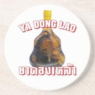 Cobra Snake Vs Scorpion Whiskey Yadong Lao Beverage Coasters