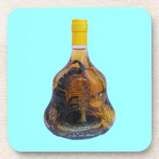 Cobra Snake Vs Scorpion Whiskey Yadong Lao Beverage Coaster