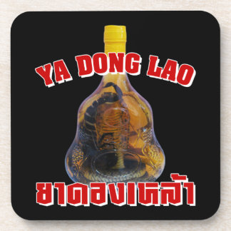 Cobra Snake Vs Scorpion Whiskey Yadong Lao Drink Coasters