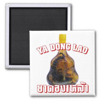 Cobra Snake Vs Scorpion Whiskey Yadong Lao Refrigerator Magnet