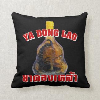 Cobra Snake Vs Scorpion Whiskey Yadong Lao Pillow