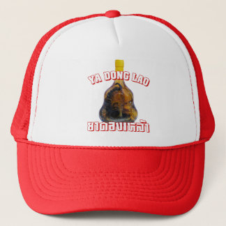 Cobra Snake Vs Scorpion Whiskey ... Yadong Lao Trucker Hat