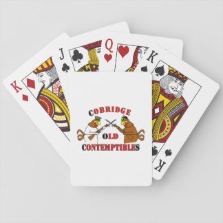 - Cobridge Old Contemptibles Playing Cards