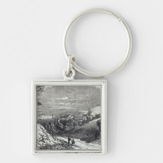 Coburg, from 'The Illustrated London News' Key Ring