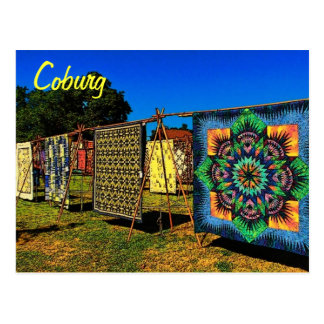 Coburg Quilts Postcard
