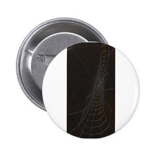 Cobweb 6 Cm Round Badge
