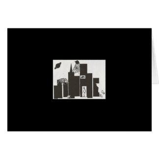 cobweb city art card
