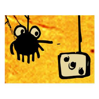 Cobweb Games Postcard