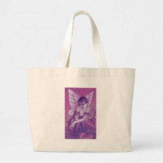cobweb large tote bag