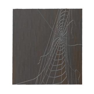 Cobweb Notepad