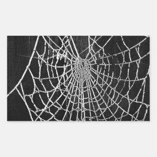 Cobweb Rectangular Sticker