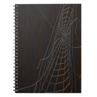 Cobweb Spiral Notebook