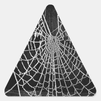 Cobweb Triangle Sticker