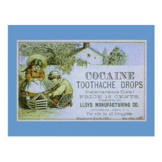 Coca Tooth Vintage Ad Postcard