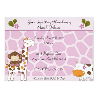 Cocalo Jacana Animals Baby Shower Invitations