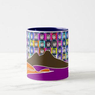 CoccoDAY Two-Tone Coffee Mug