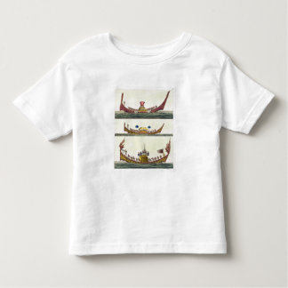 Cochin Chinese ships, illustration from 'Le Costum Toddler T-Shirt