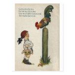 Cock-a-doodle-doo Post Card