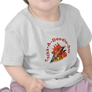 Cock-A-Doodle-Doo Rooster Tshirts