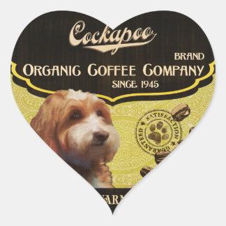 Cockapo Brand – Organic Coffee Company Stickers
