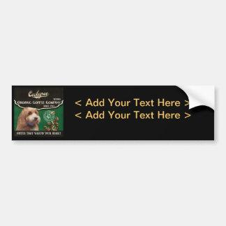 Cockapoo Brand – Organic Coffee Company Bumper Sticker
