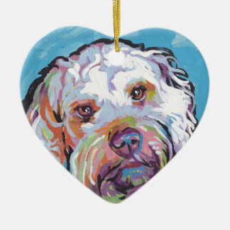 Cockapoo Bright Colorful Pop Dog Art Christmas Ornament