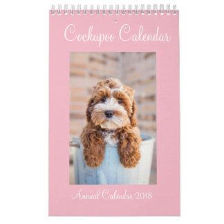 Cockapoo Calendar 2018