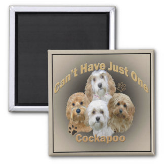 Cockapoo Can t Have Just One Gifts Refrigerator Magnets