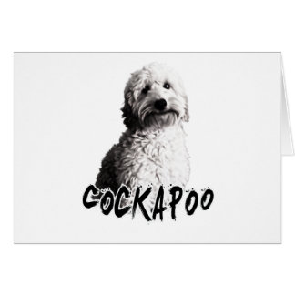 Cockapoo Card