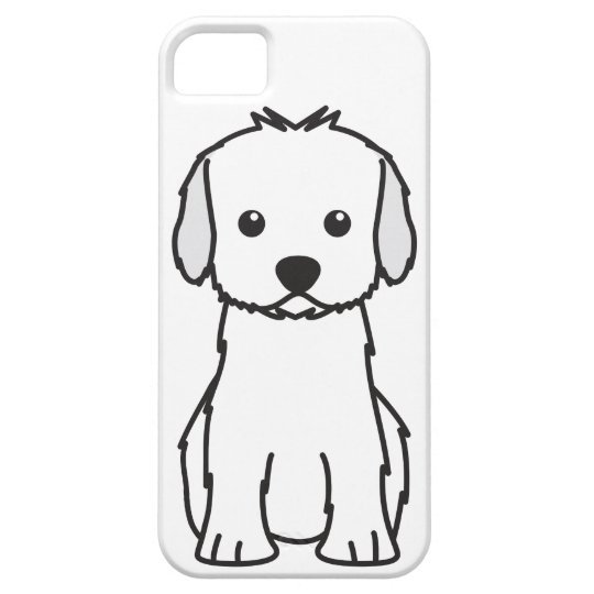 Cockapoo Dog Cartoon Barely There iPhone 5 Case