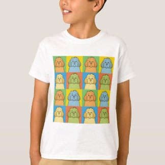 Cockapoo Dog Cartoon Pop-Art T-Shirt