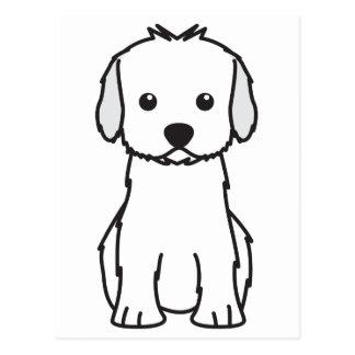Cockapoo Dog Cartoon Postcard