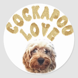 Cockapoo Dog Stickers