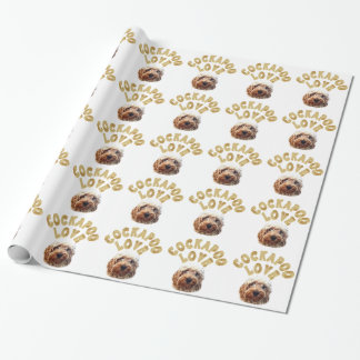 Cockapoo Dog Wrapping Paper