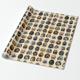 Cockapoo & Doodle Dog Wrapping Paper