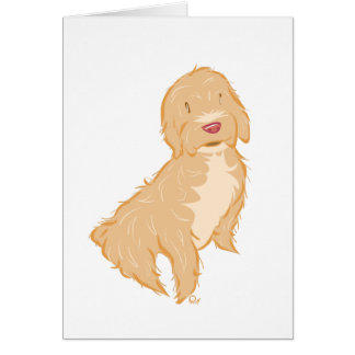 Cockapoo - Greeting Card