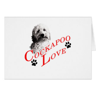 Cockapoo Love Card
