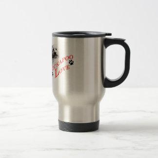 Cockapoo Love Stainless Steel Travel Mug