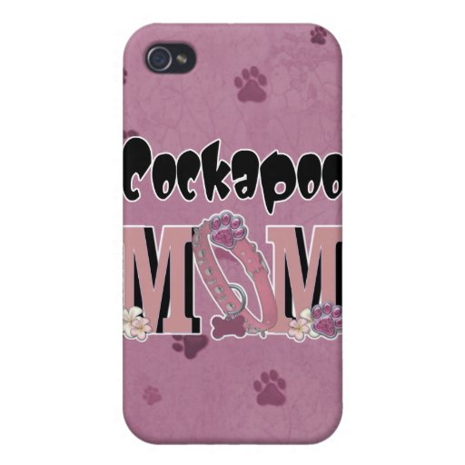 Cockapoo MOM iPhone 4/4S Cover