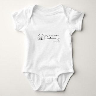 cockapoo - more breeds baby bodysuit
