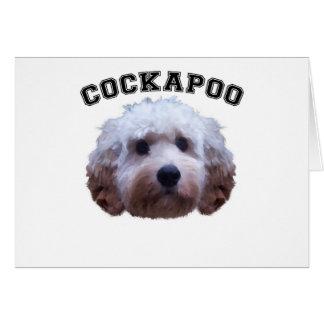 Cockapoo Puppy Card