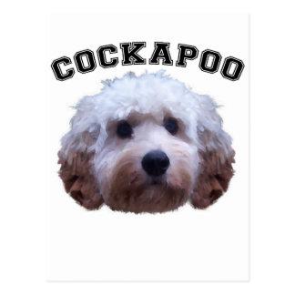 Cockapoo Puppy Postcard