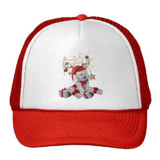 Cockapoo Reinbeer for Christmas Trucker Hats